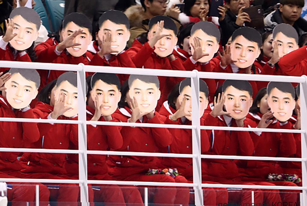 北朝鮮美女応援団